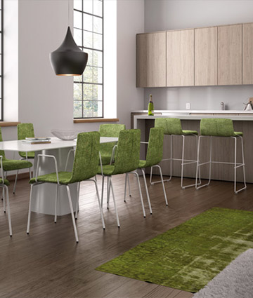 Leyform produces design chairs to furnish table and kitchen counter with taste and style