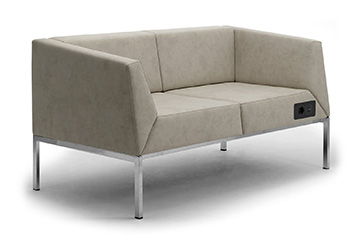 Contemporary design lounge sofas for office waiting room Kos