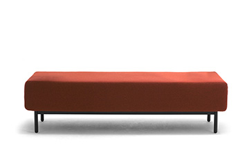 Sofa benches with usb charger for shops waiting room Around