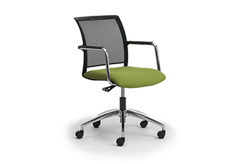 Contemporary design office task armchair for meeting table Cometa