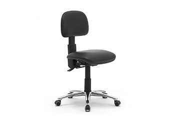 task office seats with metal base for workstations Dattilus