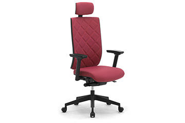 Design padded office armchairs with arms Wiki-Tech