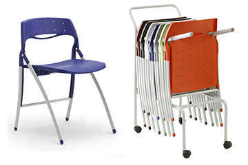 stackable folding chairs and seats Arcade